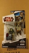 Star Wars Legacy Collection BD18 Ewoks figures NEW ON CARD FACTORY SEALED
