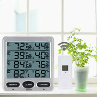 Ambient Weather Meter Wireless Thermometer Hygrometer Temperature Humidity Meter