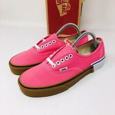 *NEW* Vans Authentic Pink Lemonade (Men Size 10) Gum Block Skate Shoes