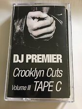 DJ Premier Crooklyn Cuts Tape C Mixtape Cassette 90s Tape Kingz Brooklyn NYC