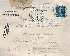 ENVELOPPE CHAMBRE DES DEPUTES - EXPEDIEE LE 13.05.1922