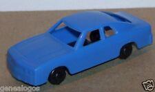 Micro jouef oh 1/86 1/87 opel manta light blue