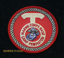 MCB CAMP PENDLETON CA US MARINES TAB HAT PATCH FMF PIN USS MAR DIV MAW FSSG WOW