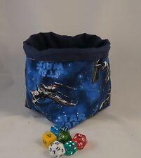 Star Wars Dice Bag - Freestanding - Cotton - Drawstring Tile Pouch - Destiny Bag