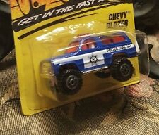 Matchbox Chevy Blazer #50 police, blue, 1996 issue, 1:64 scale