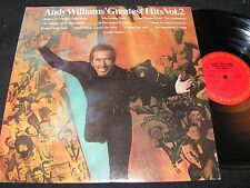 ANDY WILLIAMS Greatest Hits Vol.2 / US LP 1973 COLUMBIA KC 32384
