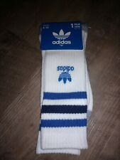 BRAND NEW! ADIDAS ADULT CREW SOCKS, SIZE 6-12!