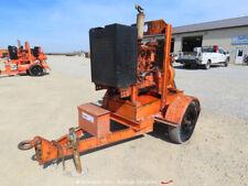 """2009 Godwin Cd150M Bs 6"""" Dri-Prime Towable Water Pump John Deere Diesel bidadoo"""