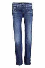 Replay Herren-Straight-Cut-Jeans niedriger Bundhöhe (en)