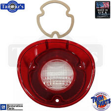 72 Chevelle Reverse Taillight Back Up Tail Light Lamp Lens w/ GASKET USA - LH
