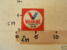 STICKER,DECAL VALVOLINE RACING OIL RED
