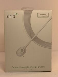 25 Foot Outdoor Magnetic Charging Cable for Arlo Ultra Cameras - OPEN BOX NEW