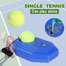 Solo Tennis Trainer Training Practice Rebound Ball Back Base Tool Self-Study