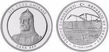 Turkey 2016, Cakabey, First Turkish Admiral, Commemorative Silver Coin, Unc