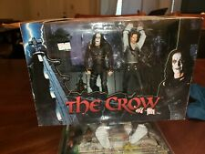 The Crow 2004 Reflections Reel Toys NECA Rooftop Battle Set New in box