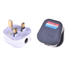 3 Pin UK Mains Top Plug 13A 13 AMP Appliance Power Socket Fuse Adapter RSPM