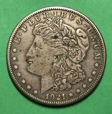1921 S United Stated Morgan Silver Dollar $1