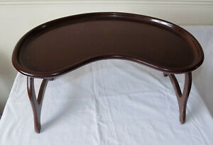 Retro Vintage Bakelite Collapsible Bed Breakfast Serving Tray W Ltd TradeMark