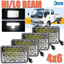 4pcs 4x6'' Cree LED Headlights Hi/Lo Beam For Forward Isuzu NPR-HD NQR GMC W3500