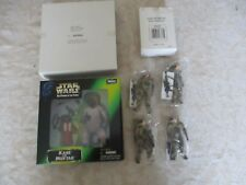 LOT STAR WARS 2 FIGURINES - KABE ET MUFTAK -  + LOT  4 TROOPERS  NEUF