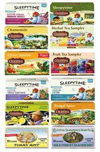 Celestial Seasonings Tea - Choose from 13 different Flavors (Buy More and Save)