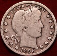 1895 Philadelphia Mint Silver Barber Quarter