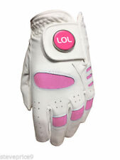 New Junior Girls All Weather Golf Glove. Lol Ball Marker. All Sizes Available