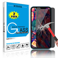 For iPhone 11 Pro Max 2019 Anti-Spy Privacy Tempered Glass Screen Protector Film