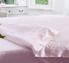 Jasmine Silk 100% 19MM Charmeuse Silk Duvet Cover (Pink) - SINGLE