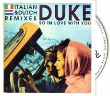 Duke - So In Love With You (Italian & Dutch Remixes) - CDS- 1996- House 2TR Card