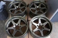 "JDM 18"" Te37 Style wheels pcd139.7X6 land cruiser pajero 4x4 te37v rays triton"