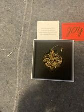 The Danbury Mint Annual 23kt Gold Christmas Ornament 2019 With Coa New!