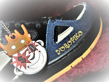 Greedy Genius #TheRootOfAllEvil denim shoes size 9.5 #YOROPIKO sneakers #JAPAN