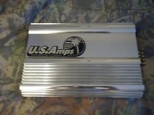 U.S. Amps USA-600 Amplifier Old School Car Audio 1 ohm stable Made In The USA