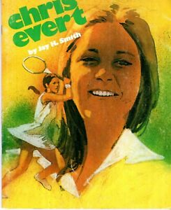 Sports Superstars! Chris Evert Book by Jay H. Smith 1975 Creative Education