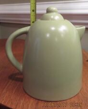 Tea Pot Ceramic - 4 Cup - 6 inches tall - Heather Green