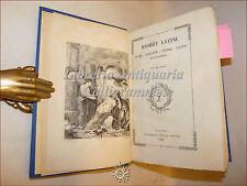 STORICI LATINI 1838 Sibilla Sallustio Cesare Tacito Floro Svetonio con 5 tavole