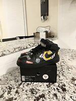 "Nike Air Force 1 Mid ""Supreme NBA Black"" Mens Size 10.5"