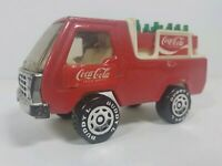Vintage 1982 Buddy L Coca-Cola Delivery Truck w/ Bottles - Good Condition