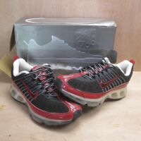 Nike Air Max 360 Trainers Vintage 2005 Deadstock Unworn UK 7.5 EUR 42 Black Red