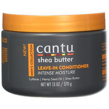 CANTU SHEA BUTTER MEN'S COLLECTION LEAVE IN CONDITIONER 13OZ