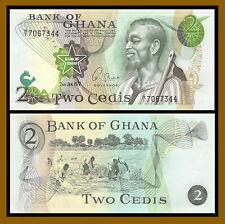 Ghana 5 Cedis 1977 P-15b Z//1 Prefix Banknotes UNC
