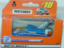 MATCHBOX WINDOW BOX 2000 #10 HYDROPLANE