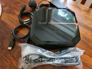 Acer Revo RL80 Mini NUC PC Intel 1.5GHz 8GB 256GB SSD HDMI DVI DVD-RW WiFi Win10