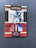 Shaun Alexander Duel Game Used Relics /25 2004 Seattle Seahawks