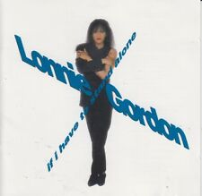 Lonnie Gordon If I Have To Stand Alone CD 1990