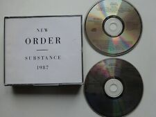 NEW ORDER Substance - 2-Disc CD Set (1987) Best Of - Blue Monday/Temptation