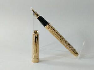 SHEAFFER 9172-0 Prelude Fountain Pen, M Nib (22KG Engraved Diamond Square), MINT