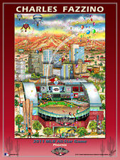 MLB All-Star Game PHOENIX 2011 Official Poster Print by Charles Fazzino