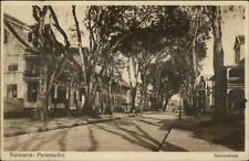 Suriname Paramaribo Street View Heerenstraat c1920 Postcard
